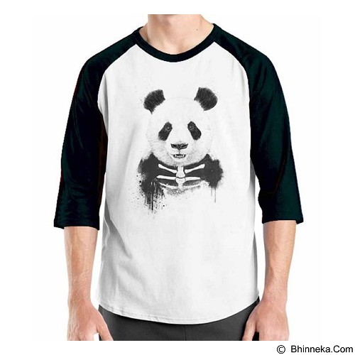 ORDINAL Raglan Zombie Attack 13  Size ML (Merchant) - Kaos Pria