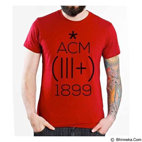 ORDINAL T-Shirt AC Milan Edition 01 Size L (Merchant) - Kaos Pria