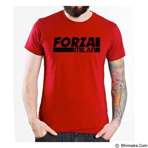 ORDINAL T-Shirt AC Milan Edition 07 Size ML (Merchant) - Kaos Pria
