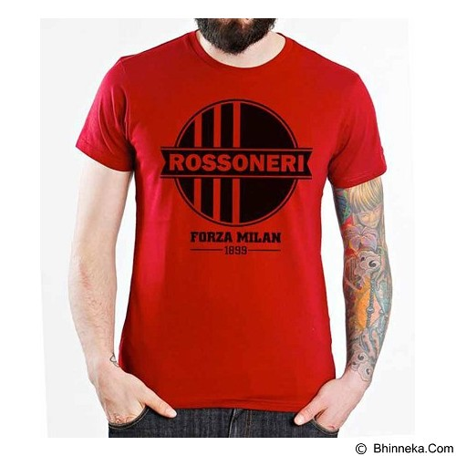 ORDINAL T-Shirt AC Milan Edition 08 Size ML (Merchant) - Kaos Pria
