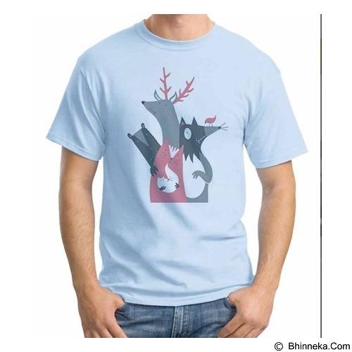 ORDINAL T-Shirt Animal Character 06 Size S (Merchant) - Kaos Pria
