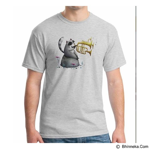 ORDINAL T-Shirt Animal Character 08 Size L (Merchant) - Kaos Pria