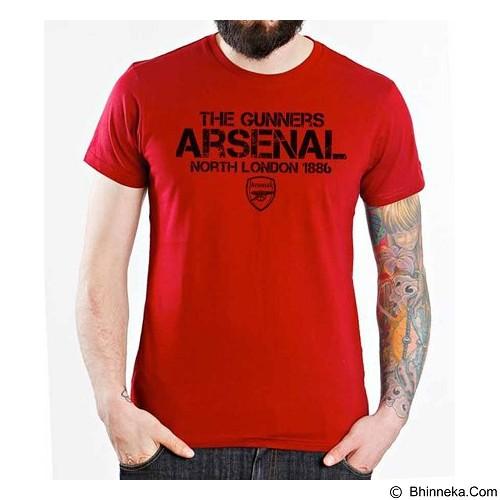 ORDINAL T-Shirt Arsenal Edition 15 Size S (Merchant) - Kaos Pria