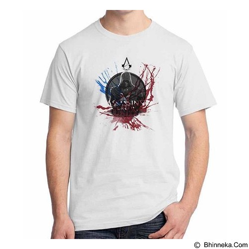 ORDINAL T-Shirt Assassin Creed Unity 01 Size XXL (Merchant) - Kaos Pria