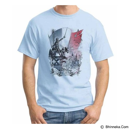ORDINAL T-Shirt Assassin Creed Unity 04 Size XL (Merchant) - Kaos Pria