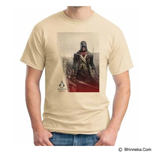 ORDINAL T-Shirt Assassin Creed Unity 06 Size ML (Merchant) - Kaos Pria