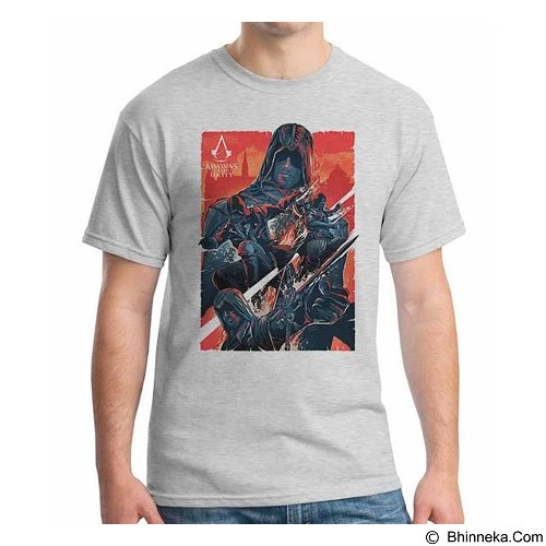 ORDINAL T-Shirt Assassin Creed Unity 08 Size L (Merchant) - Kaos Pria