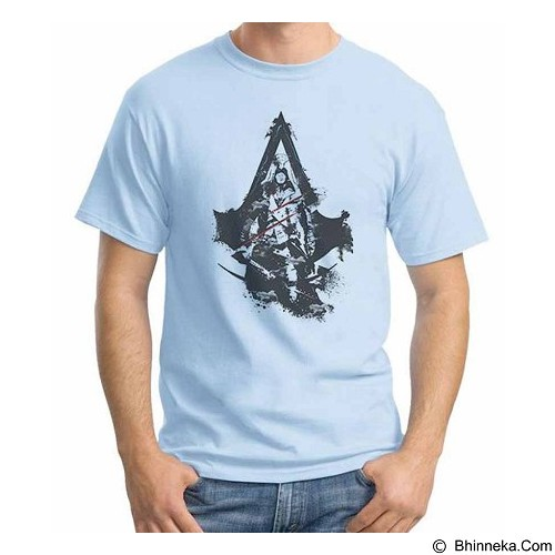ORDINAL T-Shirt Assassin Creed Unity 09 Size L (Merchant) - Kaos Pria