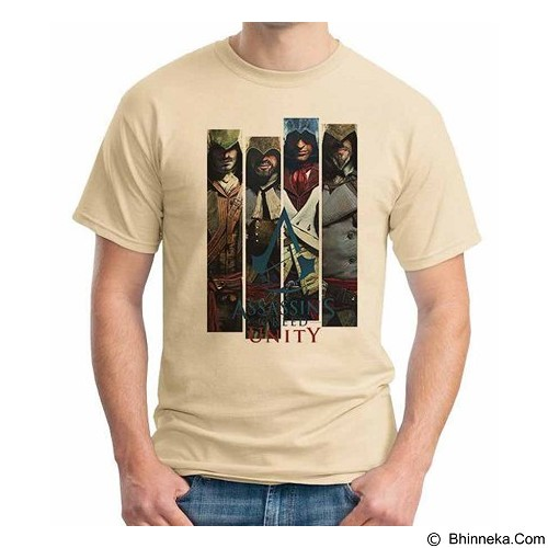 ORDINAL T-Shirt Assassin Creed Unity 12 Size XL (Merchant) - Kaos Pria