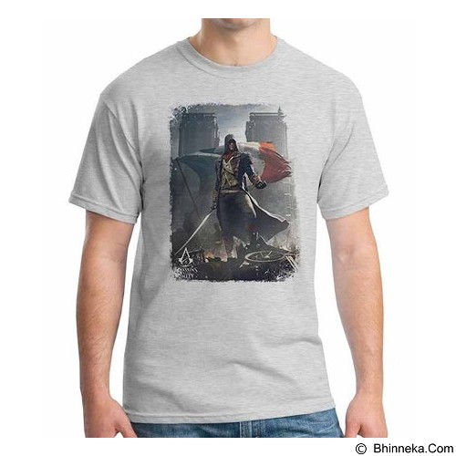 ORDINAL T-Shirt Assassin Creed Unity 14 Size XL (Merchant) - Kaos Pria