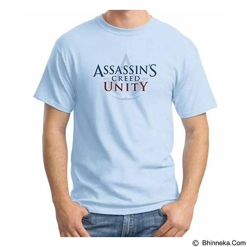 ORDINAL T-Shirt Assassin Creed Unity Logo 01 Size ML (Merchant) - Kaos Pria