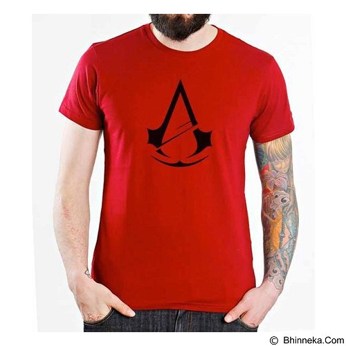 ORDINAL T-Shirt Assassin Creed Unity Logo 04 Size S (Merchant) - Kaos Pria