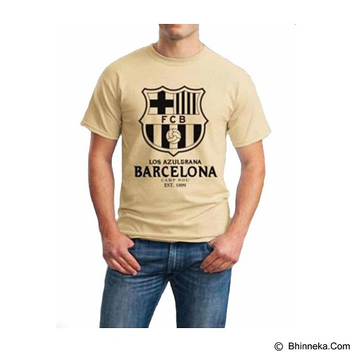 ORDINAL T-Shirt Barcelona 06 Size ML (Merchant) - Kaos Pria