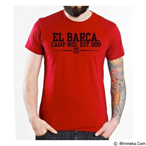 ORDINAL T-Shirt Barcelona Edition 04 Size ML (Merchant) - Kaos Pria