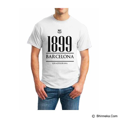 ORDINAL T-Shirt Barcelona Year Size XXL (Merchant) - Kaos Pria
