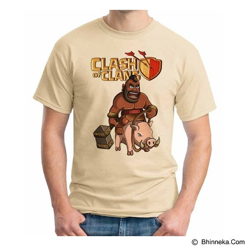 ORDINAL T-Shirt COC Game 06 Size M (Merchant) - Kaos Pria