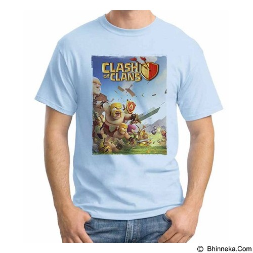 ORDINAL T-Shirt COC Game 15 Size L (Merchant) - Kaos Pria