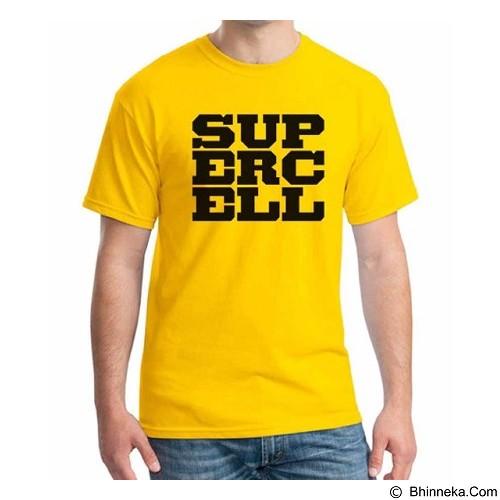 ORDINAL T-Shirt COC Game Logo Size XL (Merchant) - Kaos Pria