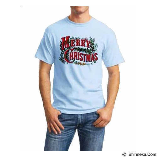 ORDINAL T-Shirt Christmas 04 Size L (Merchant) - Kaos Pria