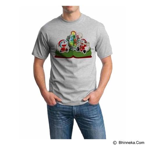 ORDINAL T-Shirt Christmas Doraemon 02 Size ML (Merchant) - Kaos Pria