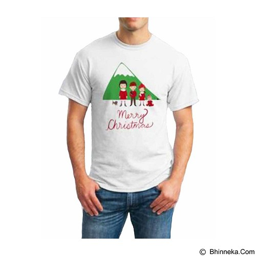 ORDINAL T-Shirt Christmas Family Size ML (Merchant) - Kaos Pria