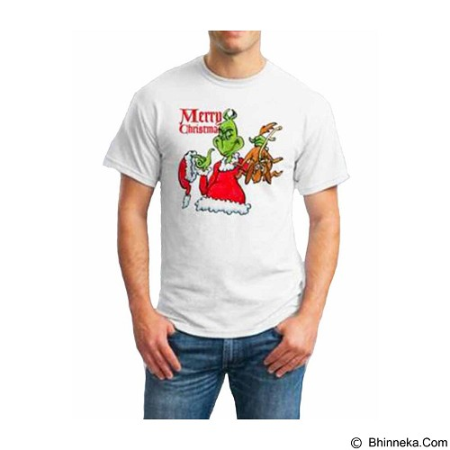 ORDINAL T-Shirt Christmas Grinch 01 Size ML (Merchant) - Kaos Pria