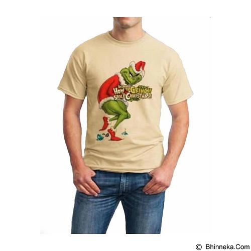 ORDINAL T-Shirt Christmas Grinch 02 Size M (Merchant) - Kaos Pria