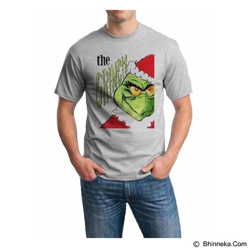 ORDINAL T-Shirt Christmas Grinch 05 Size ML (Merchant) - Kaos Pria