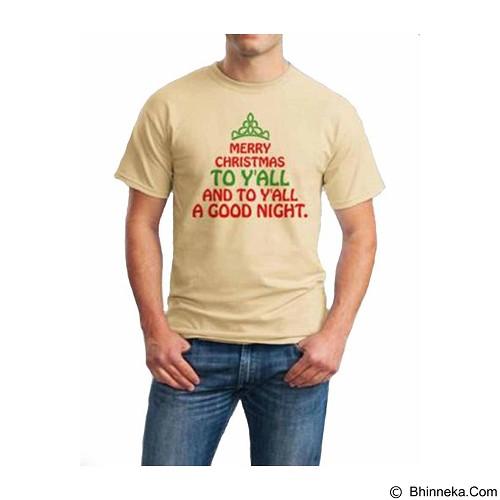 ORDINAL T-Shirt Christmas Quotes 02 Size ML (Merchant) - Kaos Pria