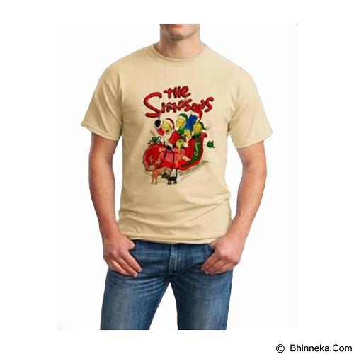 ORDINAL T-Shirt Christmas The Simpson 03 Size XL (Merchant) - Kaos Pria