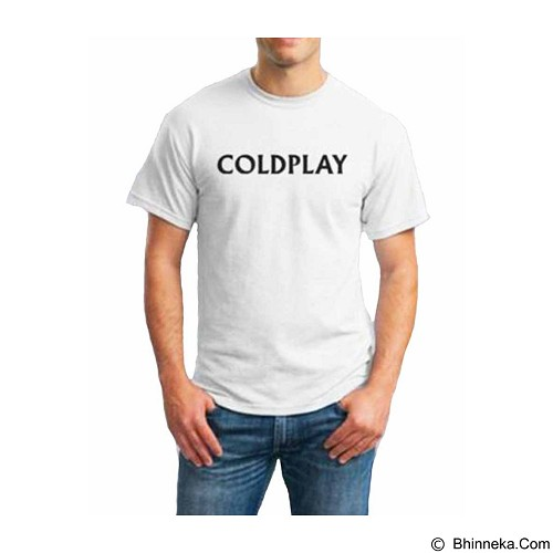 ORDINAL T-Shirt Coldplay 01 Size XL (Merchant) - Kaos Pria