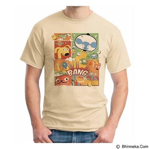 ORDINAL T-Shirt Comic Book 04 Size XL (Merchant) - Kaos Pria