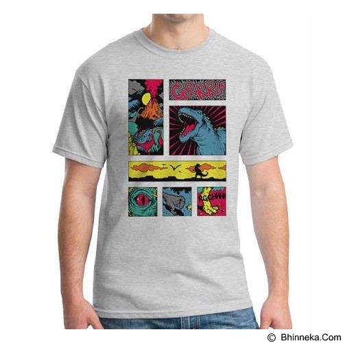 ORDINAL T-Shirt Comic Book 05 Size L (Merchant) - Kaos Pria