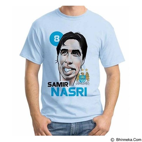 ORDINAL T-Shirt Football Player Nasri Size L (Merchant) - Kaos Pria