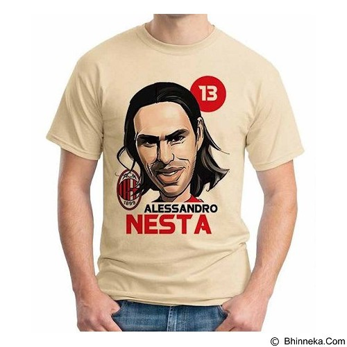 ORDINAL T-Shirt Football Player Nesta Size XL (Merchant) - Kaos Pria