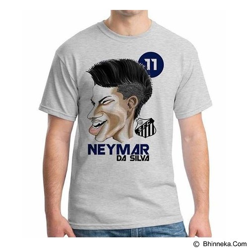 ORDINAL T-Shirt Football Player Neymar Size M (Merchant) - Kaos Pria