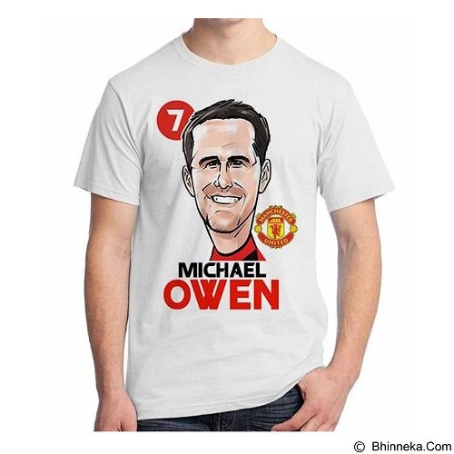 ORDINAL T-Shirt Football Player Owen Size XXL (Merchant) - Kaos Pria
