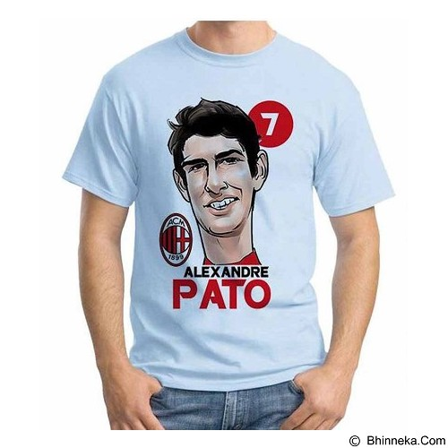 ORDINAL T-Shirt Football Player Pato Size L (Merchant) - Kaos Pria