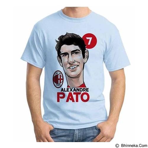 ORDINAL T-Shirt Football Player Pato Size M (Merchant) - Kaos Pria