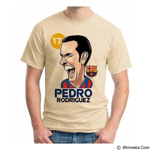 ORDINAL T-Shirt Football Player Pedro Size M (Merchant) - Kaos Pria
