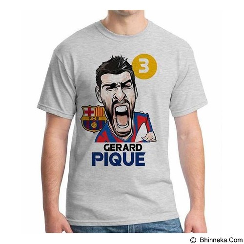 ORDINAL T-Shirt Football Player Pique Size ML (Merchant) - Kaos Pria