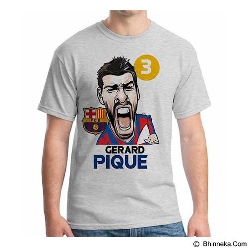 ORDINAL T-Shirt Football Player Pique Size XL (Merchant) - Kaos Pria