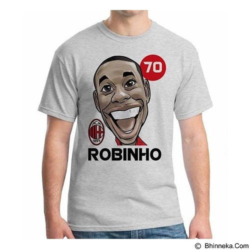 ORDINAL T-Shirt Football Player Robinho Size S (Merchant) - Kaos Pria