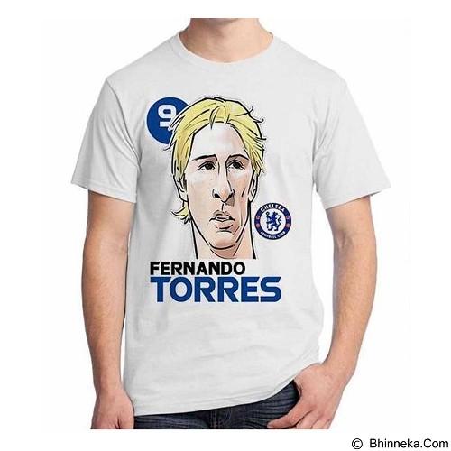ORDINAL T-Shirt Football Player Torres 02 Size ML (Merchant) - Kaos Pria