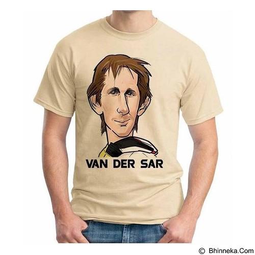 ORDINAL T-Shirt Football Player Van Der Sar Size XXL (Merchant) - Kaos Pria