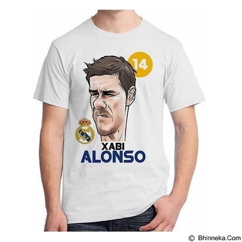 ORDINAL T-Shirt Football Player Xabi Alonso Size XXL (Merchant) - Kaos Pria