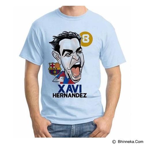 ORDINAL T-Shirt Football Player Xavi Size ML (Merchant) - Kaos Pria