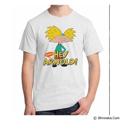 ORDINAL T-Shirt Hey Arnold Size ML (Merchant) - Kaos Pria