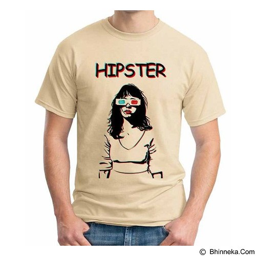 ORDINAL T-Shirt Hipster Girls Size L (Merchant) - Kaos Pria