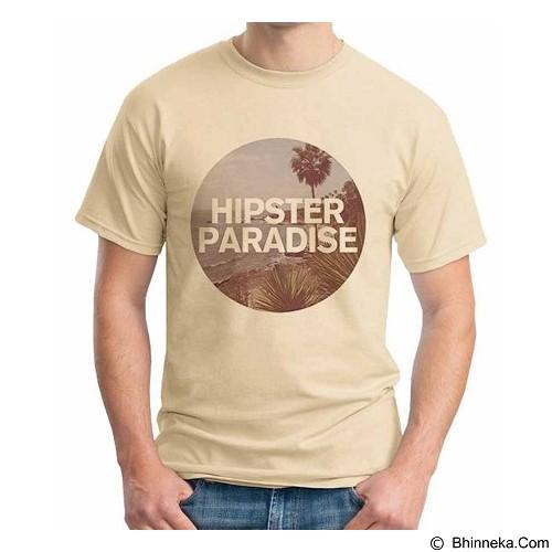 ORDINAL T-Shirt Hipster Paradise Size M (Merchant) - Kaos Pria